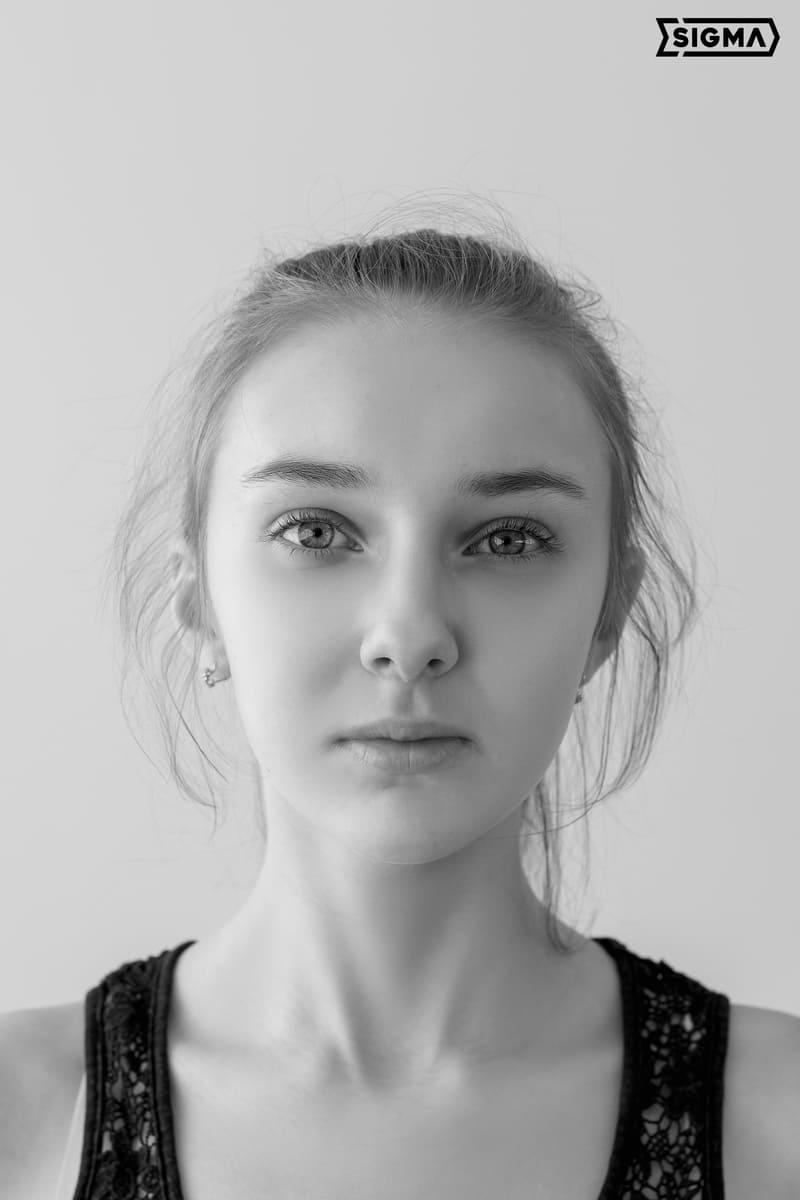 Алина, портрет